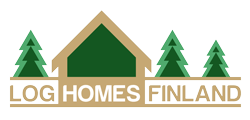 log homes finland logo